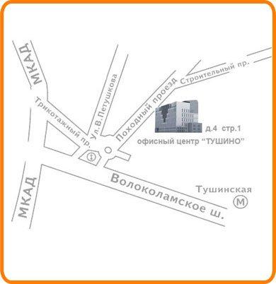 Схема проезда в Компанию